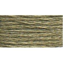 DMC Pearl Cotton Skein Size 5 27.3yd-Medium Brown Grey