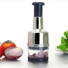 Kitchen Garlic Onion Vegetable Slicer Pressing Chopper Cutter Food Peeler Dicer