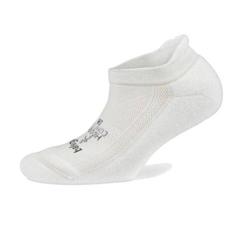 (S) Balega Hidden Comfort Unisex Running Socks, White
