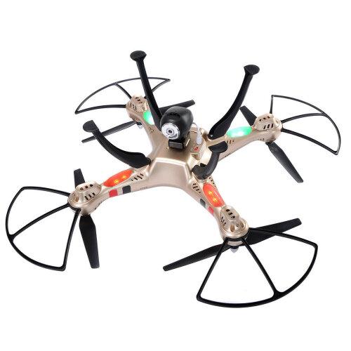 Syma X8HC 4CH 6-Axis Gyro RC Quadcopter Drone 2MP HD Camera UAV RTF UFO New