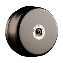 Byron 1210 wired door chime – Black  – Classic 'brrrrring' sound