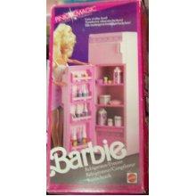Barbie Living Pretty Refrigerator/Freezer (1987) Made in Italy - RARE