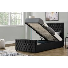 Smartie Ottoman Fabric Bed Frame
