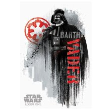 Star Wars Official Rogue One Darth Vader Grunge Maxi Poster