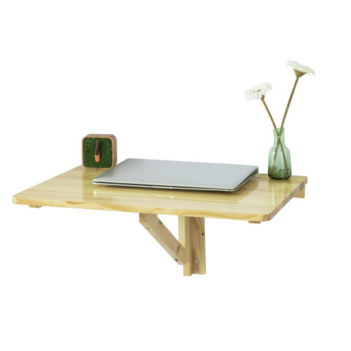 SoBuy® FWT03-N, Folding Wall-mounted Drop-leaf Table Desk Kitchen Dining Table, 60x40cm