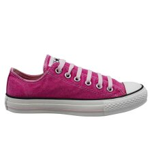 Converse Chuck Taylor Sunfaded OX Lo Lace Up Plimsolls Womens Trainers 109658
