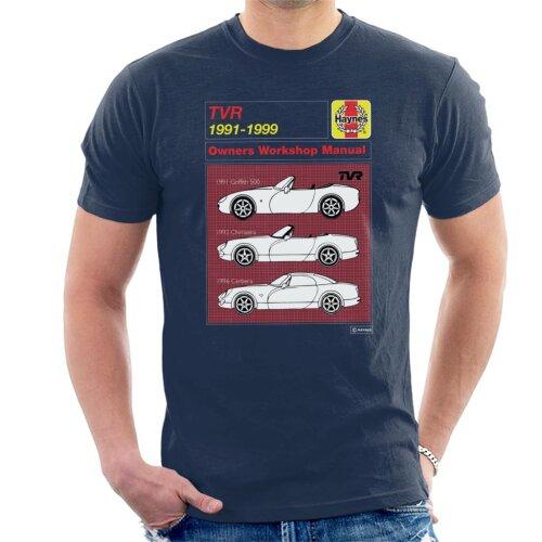 Haynes TVR 1991 to 1999 Workshop Manual Men's T-Shirt