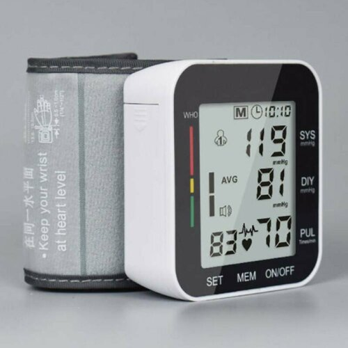 Salter Automatic Wrist Blood Pressure Monitor Digital BP Machine For Home Use