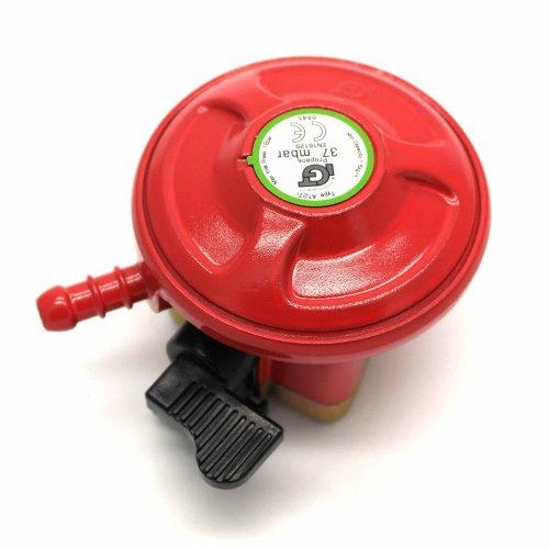 Silverline Propane Gas Regulator High-Capacity 37mbar