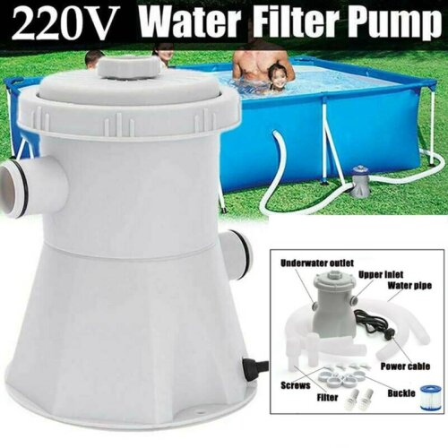 Swimming Electric Pool Filter Pump Water Clean Filtration for Above Ground Pool