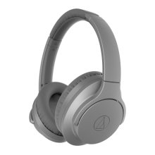 AUDIO TECHNICA QuietPoint ATH-ANC700BT Wireless Bluetooth Noise-Cancelling Headphones - Grey, Grey