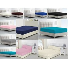 Single Double King Super King Bed Fitted Sheets