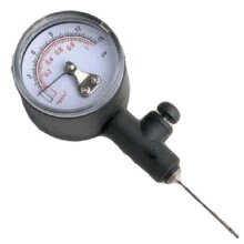 FOOTBALL SPORTS ACCESSORIES SOCCER BALL PRESSURE MEASURING ANALOGUE GAUGE ( ***New)