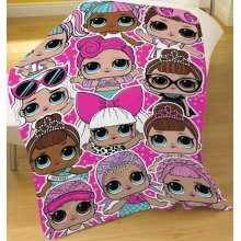 L.O.L Surprise Lots of LOL's Character Fleece Snuggle Blanket