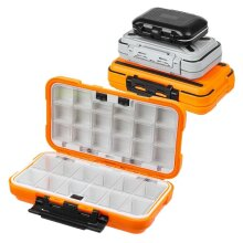 Fishing Tackle Box, Waterproof Double-Side Bait Lure Hooks, Storage Boxes, Carp Fly Fishing Accessories