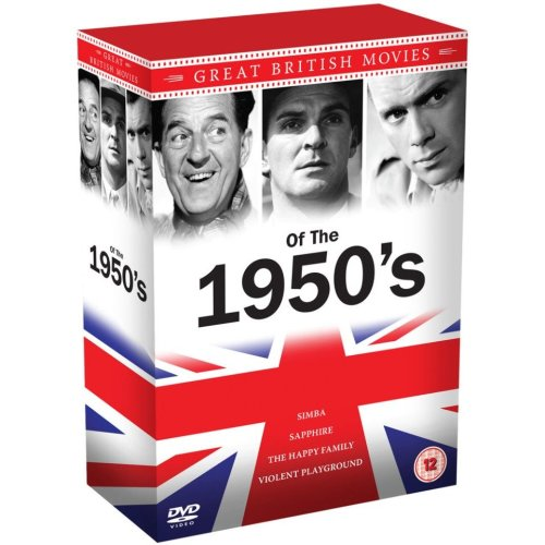 1950's Great British Movies Collection (4 Films) DVD [2014]