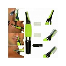 Nose Ear Hair Cordless Trimmer Sideburns Neck Chest & Eyebrow Eye Brows UK