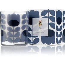 Orla Kiely Lavender Scented Candle, 200g, Purple, 8.5 x 8.5 x 10 cm