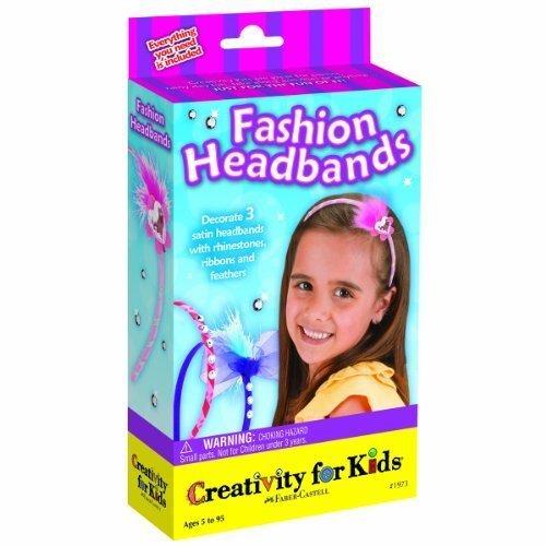 Creativity For Kids - Fashion Headbands - Mini Kit