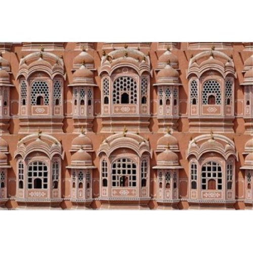 Posterazzi PDDAS10AJE0160 Palace of the Winds Jaipur India Poster Print by Adam Jones - 35 x 23 in.