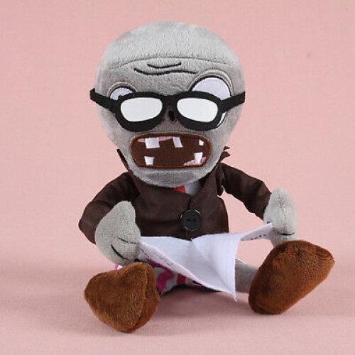 (Paper Zombie) Plants vs Zombies Figures Plush Toy Stuffed Doll