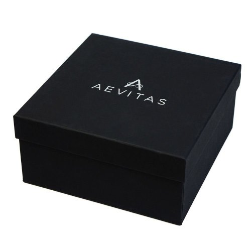 Carbon Fibre Watch and Cufflink Collectors Box for 4 Wrist Watches plus 4 Pairs Cufflink by Aevitas
