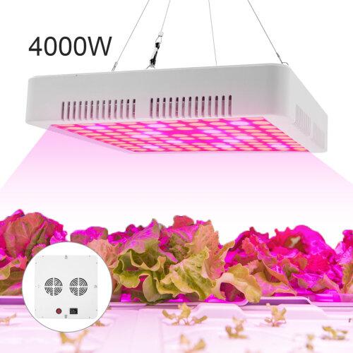 4000W LED Grow Light Hydroponic Full Spectrum Indoor Flower Plant Lamp