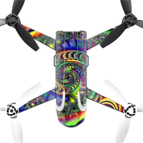 MightySkins PABEBOP2-Acid Skin Decal Wrap for Parrot Bebop 2 Quadcopter Drone - Acid