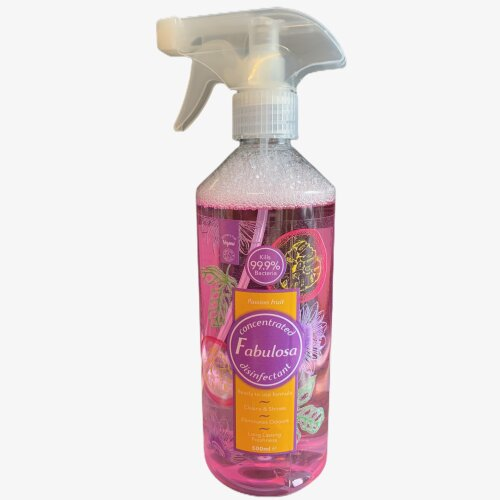 Fabulosa Disinfectant Spray Passion Fruit 500 ml Vegan