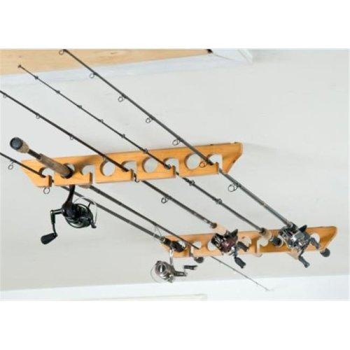 Wood Ceiling Horizontal Rod Rack