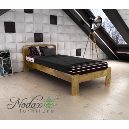 New Wooden Furniture Solid Pine Single Bedframe 3ft UK Size - F4