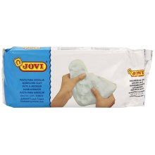 Jovi Air-Dry Modeling Clay, White, non-staining, perfect for Arts and Crafts Projects, 2.2 lb.