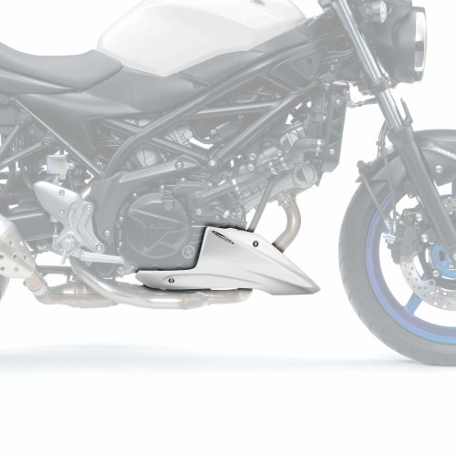 Gloss White Belly Pan to fit Suzuki SV 650 N (16+)