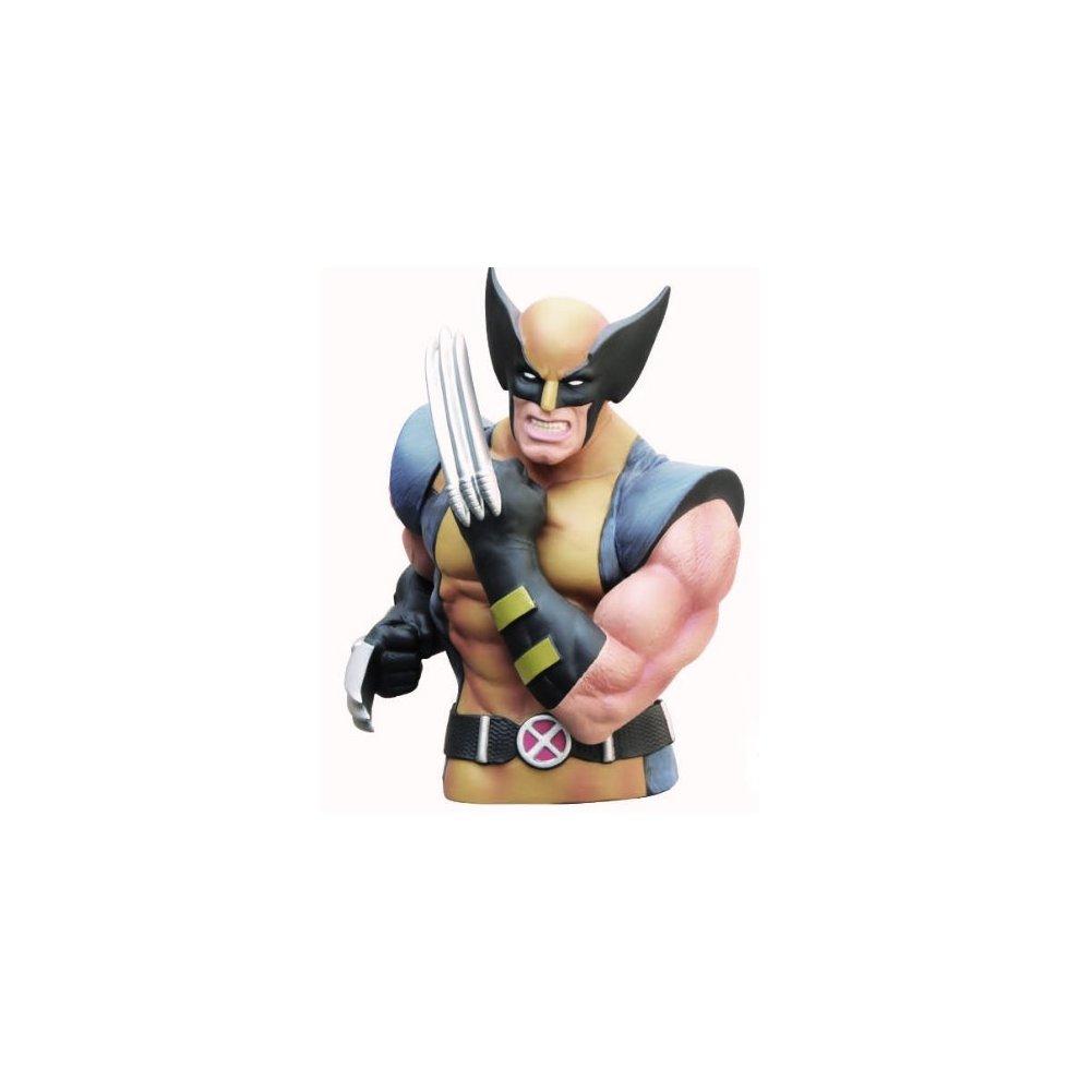 Wolverine Masked Bust Bank