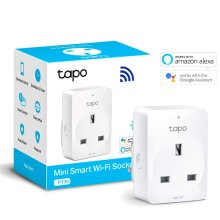 TP-Link Smart Plug WiFi Outlet, Works with Amazon Alexa (Echo and Echo Dot), Google Home, Wireless Smart Socket, Remote Control Timer Plug Switch, N