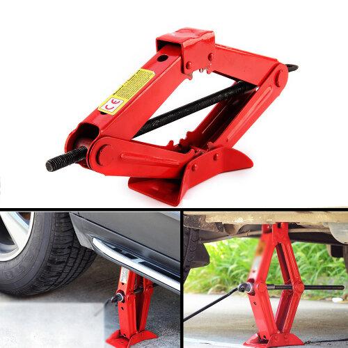 1 Ton Wind Up Jack for Car Van Garage-Chromed Crank Speed Handle