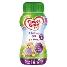 Cow & Gate Ready to Feed Follow On Milk 200ml