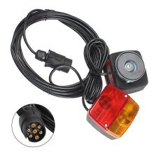 REAR TRAILER LIGHT SET LIGHTBOARD TOWING LAMPS 12 metre CABLE