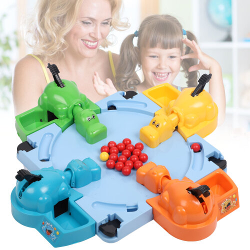 Hungry Hippos Game Marbles Child Family Party Board Game Kids Education Toy Gift