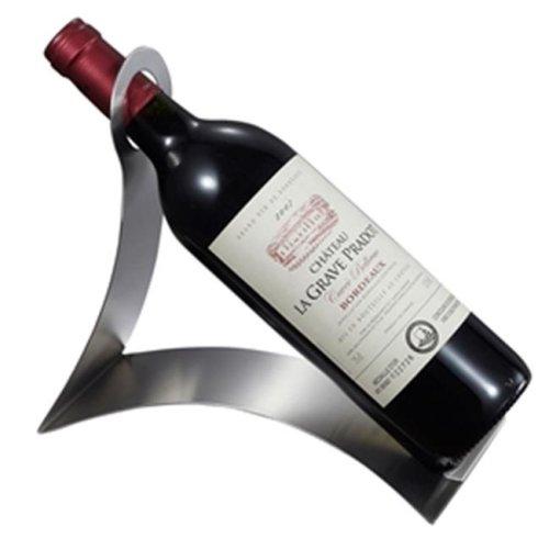 Visol VAC344 Volnay Stainless Steel Wine Bottle Holder
