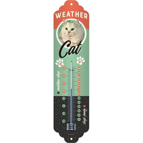 Weather Cat Thermometer
