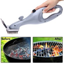 Barbecue Stainless Steel BBQ Cleaning Brush Grill Cleaner Useful Tool Easy