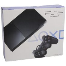 Sony Playstation 2 Console Slim - Black (New) - Used