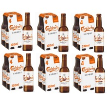Carlsberg Premium Export Pilsner 6x4pk 330ml=24 Bottle BesBef 04.08.21