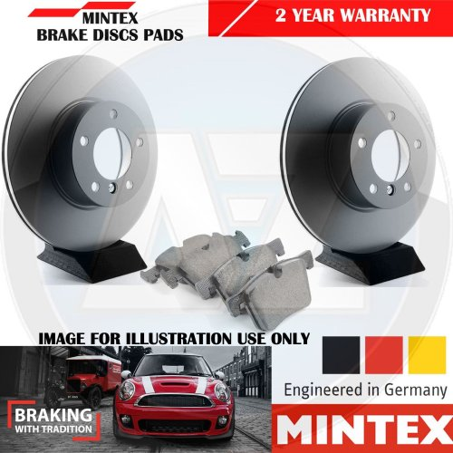 FOR MERCEDES SPRINTER 313 CDI FRONT MINTEX BRAKE DISCS AND PADS SET 300mm 2006-