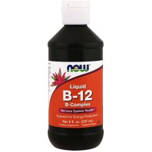 Now Foods, Liquid B-12, B-Complex, 8 fl oz (237 ml)