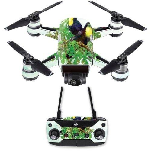 MightySkins DJSPCMB-Toucan Friends Skin Decal for DJI Spark Mini Drone Combo - Toucan Friends