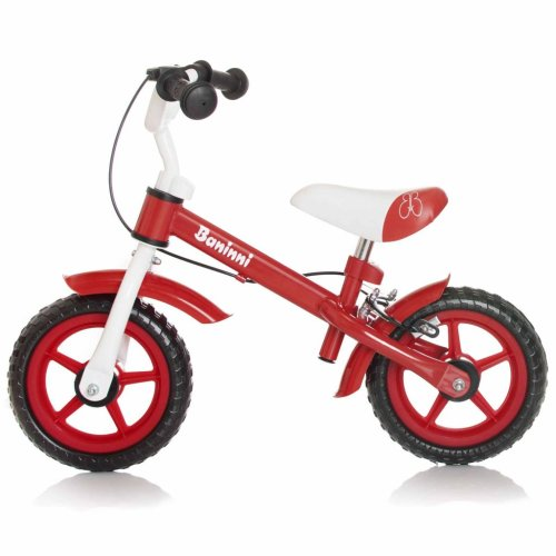 Baninni Balance Bike Wheely Red Kids Children Training Bicycle BNFK012-RD