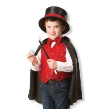 Childrens Melissa and Doug Magician Fancy Dress Costume One Size