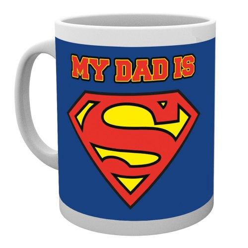 Superman My Dad is Superdad Mug